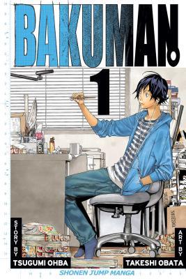 Bakuman., Volume 1 Cover