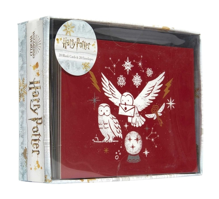 Harry Potter: Christmas Note Card Set Cover Image
