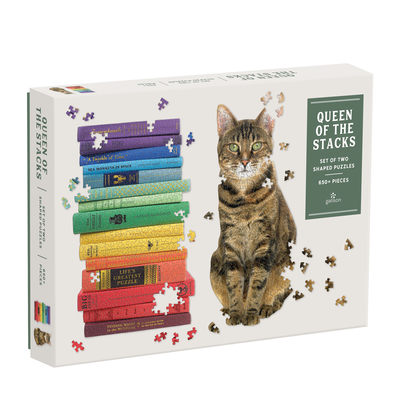 Queen of the Stacks 2-In-1 Puzzle Set Cover Image