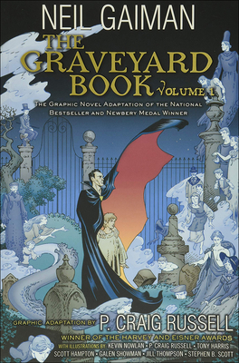 Cover for The Graveyard Book Graphic Novel, Volume 1