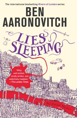 Cover for Lies Sleeping (Rivers of London #7)