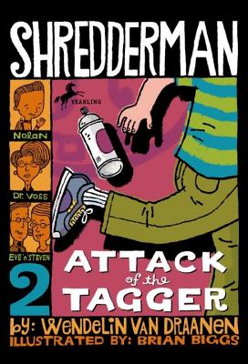Shredderman: Attack of the Tagger Cover Image