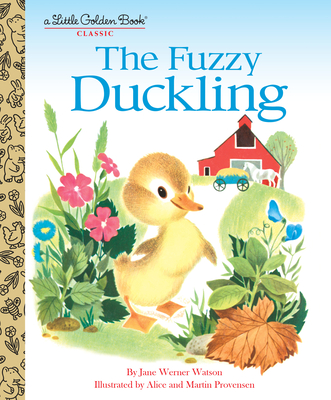 The Fuzzy Duckling (Little Golden Book) Cover Image