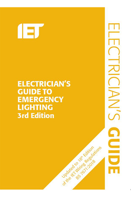 Electrician's Guide to Emergency Lighting (Electrical Regulations) Cover Image