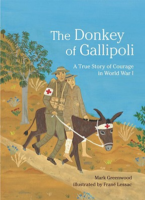 The Donkey of Gallipoli: A True Story of Courage in World War I Cover Image