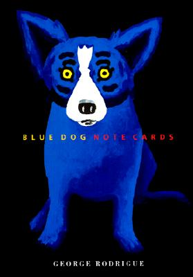 Blue Dog - Note Cards Cover Image