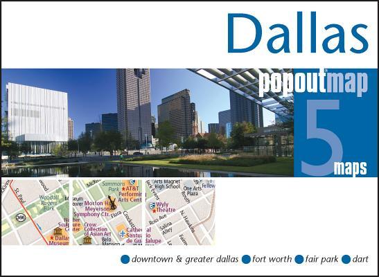 Dallas Popout Map (Popout Maps) Cover Image