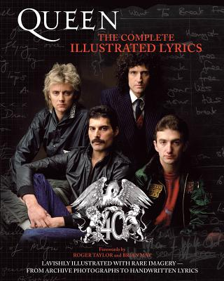 Queen: The Complete Illustrated Lyrics Cover Image