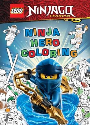 LEGO(R) NINJAGO(R): Ninja Hero Coloring (Coloring Books) Cover Image