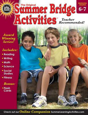 Summer Bridge Activities(r), Grades 6 - 7 Cover Image