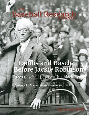 The Baseball Research Journal (BRJ), Volume 38 #1 Cover Image