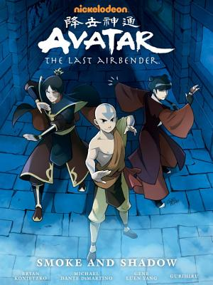 Avatar: The Last Airbender--Smoke and Shadow Library Edition Cover Image