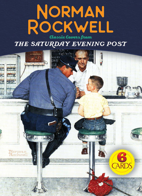 Norman Rockwell 6 Cards: Classic Covers from the Saturday Evening Post (Dover Postcards) Cover Image