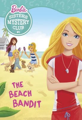Sisters Mystery Club #1: The Beach Bandit (Barbie) Cover Image