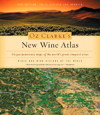 Oz Clarke's New Wine Atlas Cover