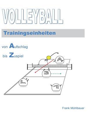 Volleyball Trainingseinheiten: Von Aufschlag bis Zuspiel Cover Image