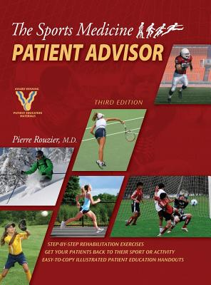 The Sports Medicine Patient Advisor, Third Edition, Hardcopy Cover Image