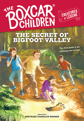 The Secret of Bigfoot Valley cover