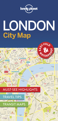 Lonely Planet London City Map Cover Image