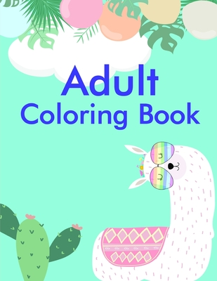 Adult Coloring Book: A Funny Coloring Pages, Christmas Book for Animal Lovers for Kids Cover Image