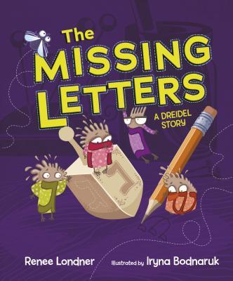 Missing Letters: A Dreidel Story PB Cover Image
