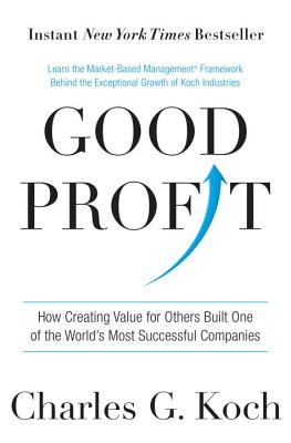 Good Profit: How Creating Value for Others Built One of the World's Most Successful Companies Cover Image