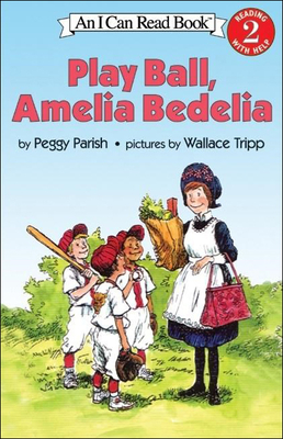 Play Ball, Amelia Bedelia (I Can Read Books: Level 2) Cover Image