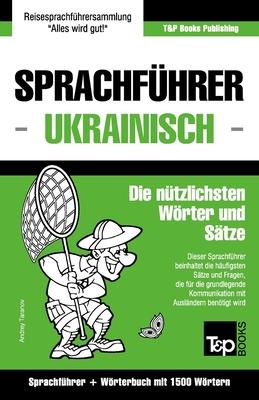 Sprachführer Deutsch-Ukrainisch und Kompaktwörterbuch mit 1500 Wörtern Cover Image
