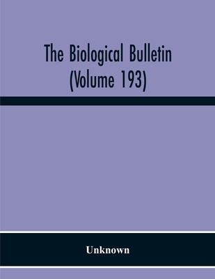 The Biological Bulletin (Volume 193) Cover Image