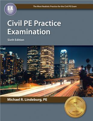 Civil PE Practice Examination Cover Image