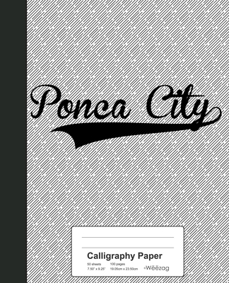Calligraphy Paper: PONCA CITY Notebook Cover Image