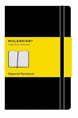 Moleskine Classic Notebook, Large, Squared, Black, Hard Cover (5 x 8.25) (Classic Notebooks) Cover Image