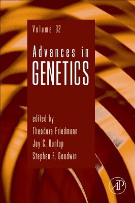Advances in Genetics, 92 Cover Image