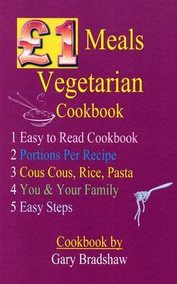 £1 Meals Vegetarian Cookbook Cover Image