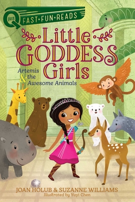 Artemis & the Awesome Animals: Little Goddess Girls 4 (QUIX) Cover Image