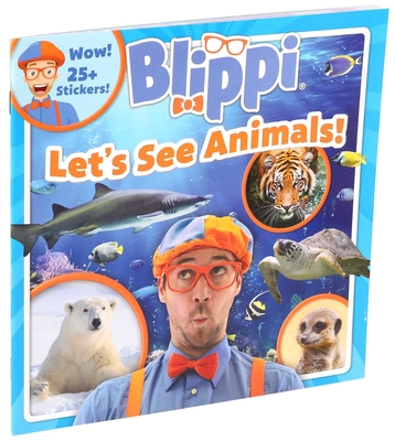 Blippi: Let's See Animals! (8x8) Cover Image