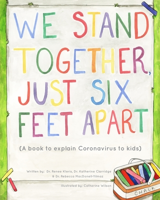 We Stand Together Just Six Feet Apart Cover Image