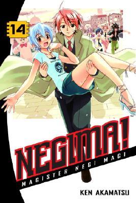 Negima! 14 Cover