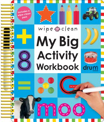 Wipe Clean: My Big Activity Workbook (My Big Step by Step) Cover Image