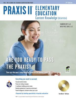 Praxis II Elementary Education, TestWare Edition: Content Knowledge (0014/5014) [With CDROM] Cover Image