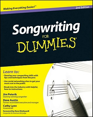 Songwriting for Dummies Cover Image