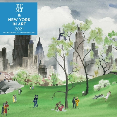 New York in Art 2021 Wall Calendar Cover Image