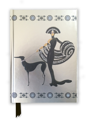 Erté Symphony in Black (Foiled Journal) (Flame Tree Notebooks #2) Cover Image