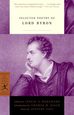 Selected Poetry of Lord Byron Cover