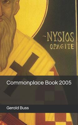Commonplace Book 2005 Cover Image