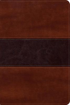 Cover for NVI Biblia del Pescador letra grande,  caoba símil piel