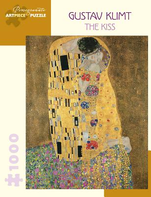 Gustav Klimt: The Kiss 1000-Piece Jigsaw Puzzle Cover Image