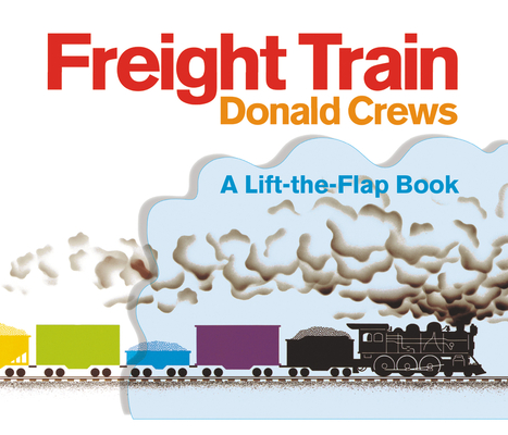 Freight Train Lift-the-Flap Cover Image