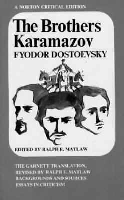 The Brothers Karamazov: The Garnett Translation Cover Image