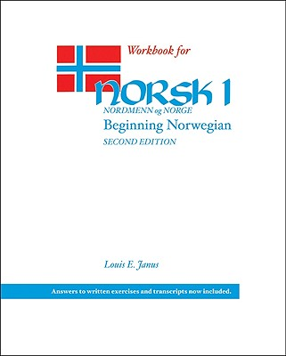 Workbook for Norsk, nordmenn og Norge 1: Beginning Norwegian Cover Image